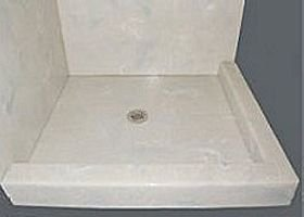 Double Threshold Custom Shower Pan
