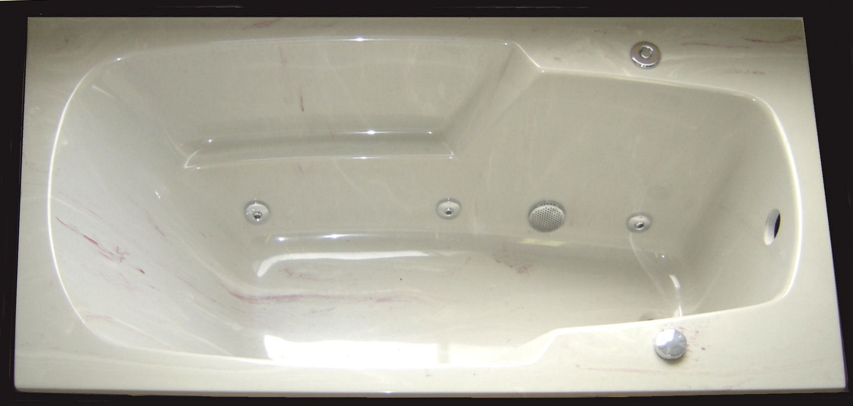 Platinum / White Cultured Marble ...
